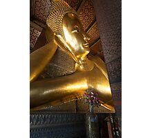Reclining Buddha in Bangkok Photographic Print