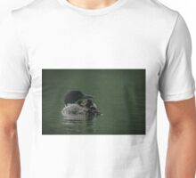 Common Loon And Chick Unisex T-Shirt