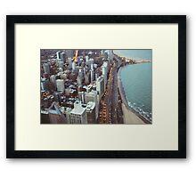 City Nights #3 Framed Print