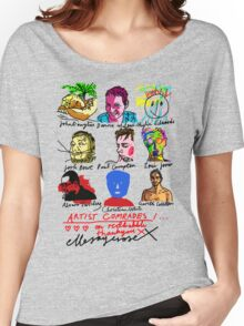 Artist Comrades I... Love Love Love on Red Bubble Women's Relaxed Fit T-Shirt