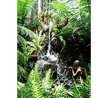 Hand Fountain Photographic Print