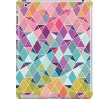 Triangular Bright - Geometric pattern iPad Case/Skin