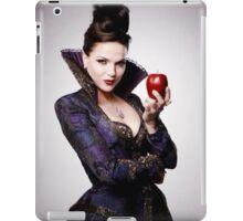 Regina Mills as The Evil Queen with apple iPad Case/Skin