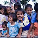 Kids in the Tray, West Sumatra, Indonesia by Ashlee Betteridge
