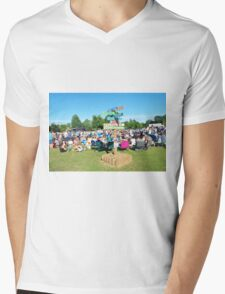 Tentertainment music festival, England Mens V-Neck T-Shirt