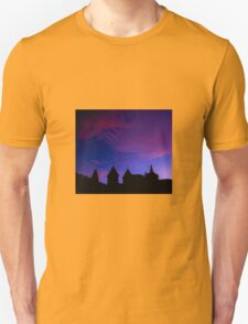 Red and blue sky Unisex T-Shirt