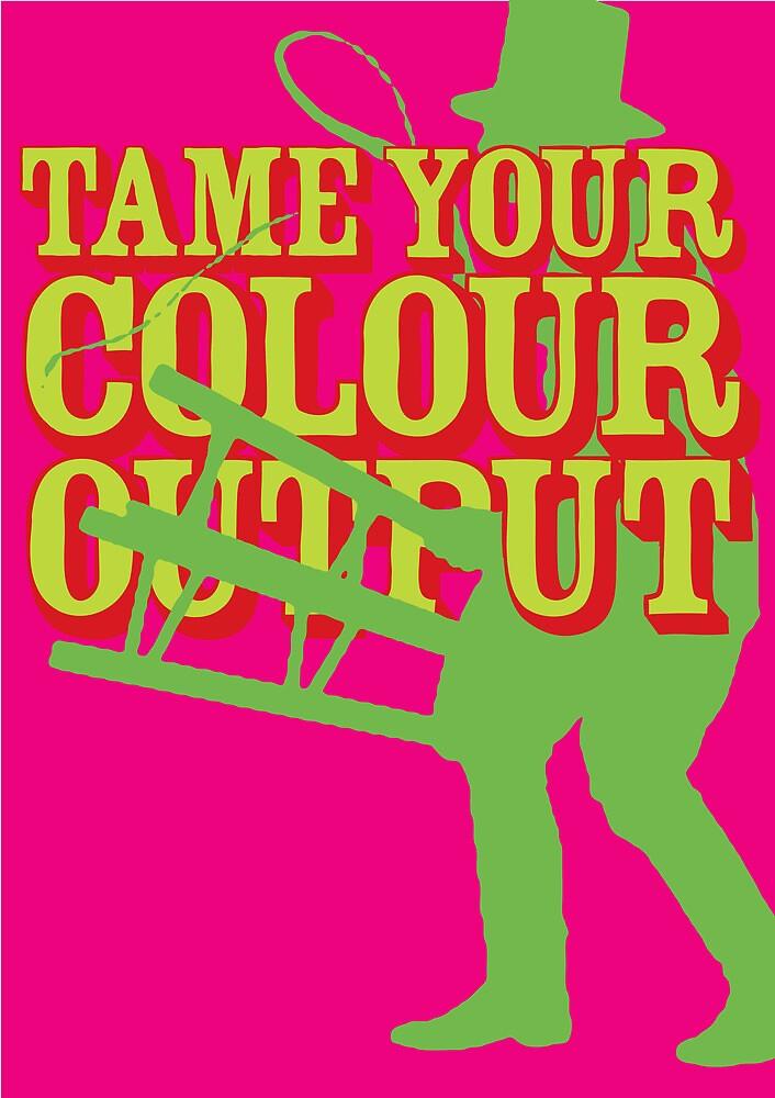 Pantone Poster 1 by James Calvert