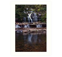 """Liffey Falls @ 33mm"" Art Print"