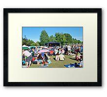 Tentertainment music festival, Kent Framed Print