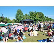 Tentertainment music festival, Kent Photographic Print
