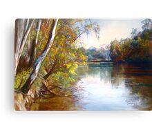Wattle Time - Goulburn River Canvas Print
