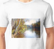 Wattle Time - Goulburn River Unisex T-Shirt