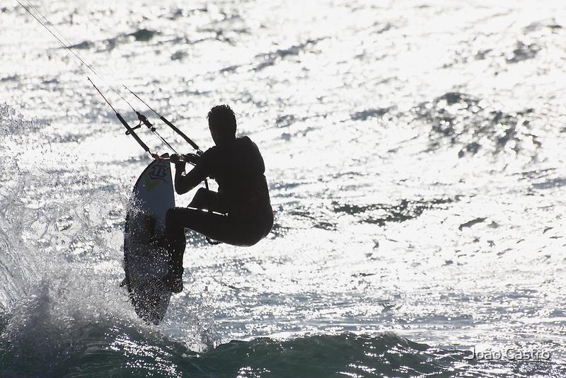 KIte surfing 7753 by João Castro