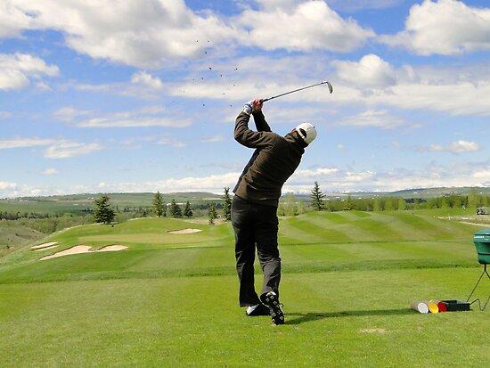 Golf Swing F by Al Bourassa