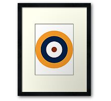 British Roundel WW2 Framed Print