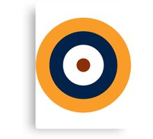 British Roundel WW2 Canvas Print