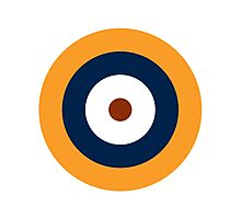 British Roundel WW2 Photographic Print