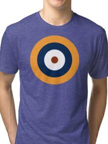 British Roundel WW2 Tri-blend T-Shirt