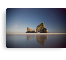 Wharariki beach at night Canvas Print