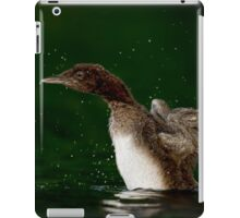 Loon Chick 10 iPad Case/Skin