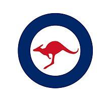 Australian Roundel WW2 Photographic Print