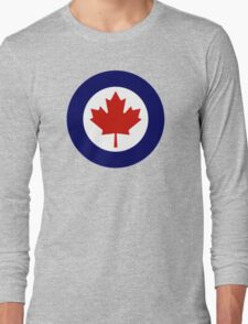 Canadian Roundel WW2 Long Sleeve T-Shirt