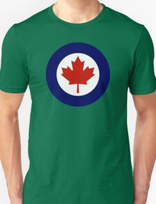 Canadian Roundel WW2 Unisex T-Shirt