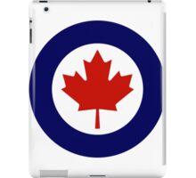 Canadian Roundel WW2 iPad Case/Skin