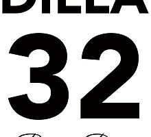 J Dilla 32 RIP by Max Marchant