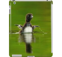 Loon Chick 11 iPad Case/Skin