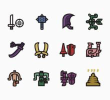Monster Hunter Weapon Icons by Broseidon13