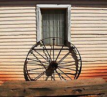 Old Wheel by BarkingGecko