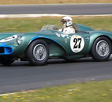 1956 Aston Martin DB3S by Willie Jackson
