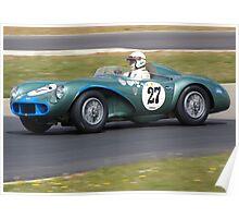 1956 Aston Martin DB3S Poster