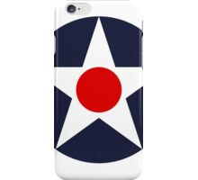 United States Roundel WW2 iPhone Case/Skin