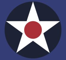 United States Roundel WW2 by DarkHorseDesign