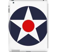 United States Roundel WW2 iPad Case/Skin