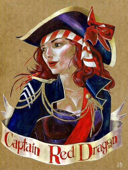 Captain Red Dragon by Alex e Clark