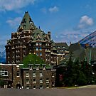 Historical Landmark Banff Springs Hotel by PFrogg