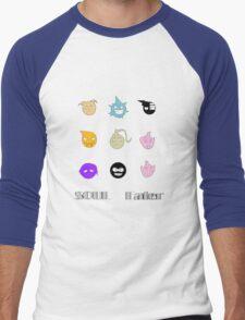 Soul Eater Souls Men's Baseball ¾ T-Shirt