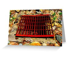 It's A Grate Day! Greeting Card