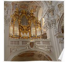 Organ, St. Stephan's Cathedral, Passau, Germany Poster