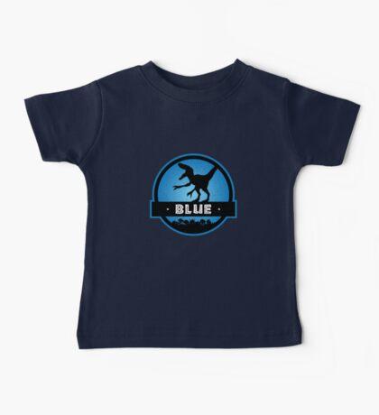 Velociraptor Squad: Blue Team Baby Tee
