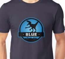 Velociraptor Squad: Blue Team Unisex T-Shirt