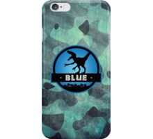 Velociraptor Squad: Blue Team iPhone Case/Skin