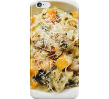 Butternut Squash & Sausage Pasta iPhone Case/Skin