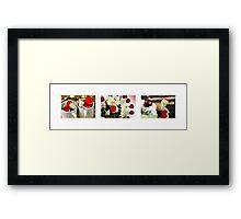 Sweetheart's Kisses Framed Print