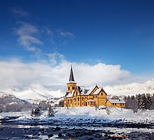 Kabelvag Chatedral by Andreas Stridsberg