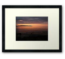 Light Up The Sea Framed Print