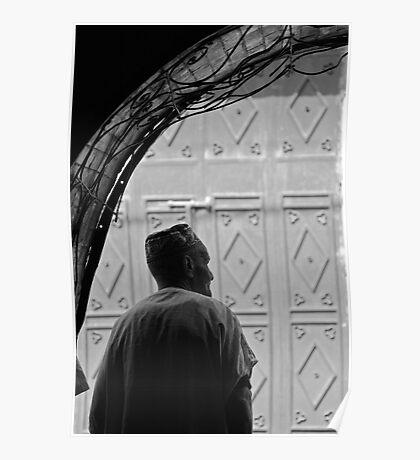 Man in the medina Poster